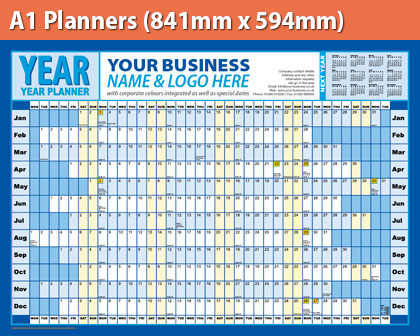 A1 Planners (841mm x 594mm)